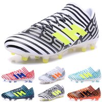 Wholesale Male High Boots - New arrival NEMEZIZ 17.1 FG Men's Soccer Shoes Drop shipping High quality cheap Performance Male waterproof soccer cleats football boot