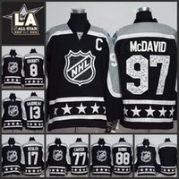 Wholesale MENS All Star GAME NHL ICE Hockey Jerseys DOUGHTY GAUDREAU KESLER CARTER BURNS MCDAVID