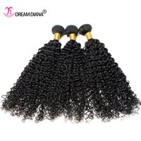 Wholesale Cheap Good Quality Extensions - Brazilian Curly Virgin Hair 3 Bundles Cheap Brazilian Kinky Curly Hair Weaves Natural Color Virgin Curly Human Hair Extension Good Quality