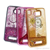 bling stars - Moving Shining Stars Liquid Glitter Quicksand D Bling Phone Case Cover For ZTE Blade Zmax Pro Z982 Sequoia A
