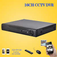 Wholesale Standalone Dvr 16 Channel - 16 channel cctv digital video Recorder realtime recording HDMI 1080P security surveillance 16ch standalone H.264 cctv dvr