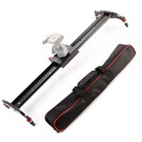 Wholesale 24 quot cm Camera Track Dolly Slider Rail System for Stabilizing Movie Film Video Making Photography DSLR Camera