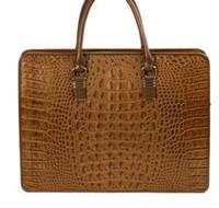 Wholesale Phone Original Size - original brand new Men genuine handbag leather business shoulder bag 4 sizes friefcases 250