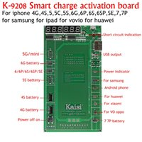 Wholesale Iphone 4s Activation - K9208 for iPhone7 Plus 7 6s 6 5s 5 4s 4 for huawei for samsung ect Professional Battery Activation Board Plate Samrt charge active borad