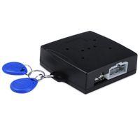 Wholesale Engine Start Stop System - RFID Car Alarm Finger Push Starter Engine Start Stop Transponder Immobilizer Keyless Go Entry System 167650201