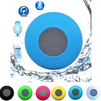 Hot Portable Subwoofer Waterproof Shower Speaker Wireless Bluetooth Handsfree Receba Call Music Sucção Mic para iPhone Samsung