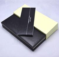siyah kağıt kutusu toptan satış-Yüksek Kalite MB Marka kalem Hediye Kutusu ile kağıtları Manuel kitap lüks siyah MB Kalem vaka Noel hediyesi için kalem ambalaj