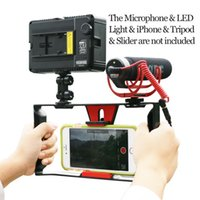 Ulanzi Smartphone Video Handle Rig Filmmaking Stabilizer Case film youtube videos / Get Led Light Rode VideoMicro