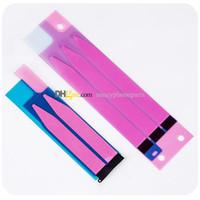 Wholesale Iphone 4s Adhesive Sticker Tape - Battery Sticker For iPhone 4 4S 5 5C 5S 6 6S 7 Plus Battery Adhesive Glue Tape Strip