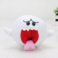 Wholesale Boo Mario - 15CM Anime Super Mario Boo Ghost stuffed toys stuffed toys Doll Super Mario plush toys