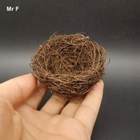 Kid Model Artificial Bird Nest Décoration miniature Mini artisanat Micro décoration paysagère Accessoires de bricolage Accessoires pédagogiques pour enfants