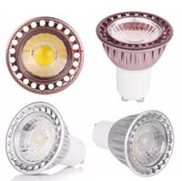 Wholesale spotlight mr16 online - cob led bulbs e27 e14 b22 gu10 mr16 dimmable led lights bulb w gu5 led spotlights lamp AC V dc v