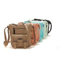 Wholesale Handbags Cross Shoulder Bags - Retro Messenger Bag Cross Body Handbag Women Shoulder Bag Satchel Bags Mobile Phone Bags 50pcs OOA2462