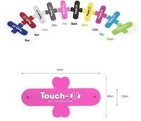 Wholesale cell u phone online – Silicone Stand Holder Cell Phone Mounts Universal Portable Touch U One Touch For iPhone Samsung HTC Sony Mobile Phones Tablets