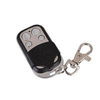 duplicador de controle remoto clone venda por atacado-Venda por atacado- 433MHz 4 Canal Controle Remoto RF Clonagem Duplicador Aprendizagem Portão Abridor De Garagem Controlador De Cópia De Alarme De Segurança Motocicletas