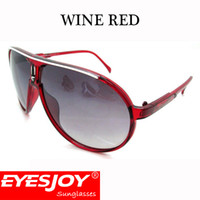 Wholesale Race Racing Car - Brand Designer Sports Goggle Sunglasses with Box Fashion Classic Style Motorcycle Cycling Racing Car Sunglasses for Men UV400 Lens