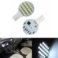 Wholesale Rv Reading Light - 30PCS Wedge T10 24 SMD LED 194 921 W5W 1210 147 168 192 RV Light Lamp Bulbs White wholesale price 12V DC