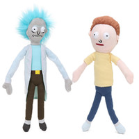 Compra Giocattoli Di Fabbro-Set di 2 Rick e Morty giocattoli peluche Happy Sad Foamy Caddy Mr Meeseeks Estate Jerry Smith morbidi bambole di pezza juguetes de