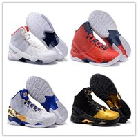 Wholesale Men Running Shoes Wave - Free Shipping Curry 2 Waves MVP Basketball Shoes Men Stephen Curry Shoes White Black Sport Sneakers