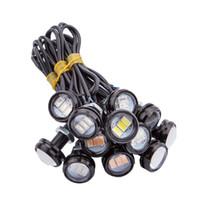 Wholesale Eagle Eye 23mm - 10PCS auto Eagle Eye DRL LED Lamp 23MM 2W 5630 Daytime Running Light Waterproof car Taillights light LED Fog bulb Car work Light
