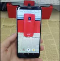 Wholesale Tri Sim Android Quad Core - Wholesale Hot High Quality Unlocked Goophone S8   s8 Plus With Fingerprint Phone Show Octa Core Show 4G LTE