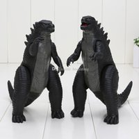 Wholesale Doll Feet Model - 2pcs set Movie figure Godzilla Toy Figures pvc action figure Feet and Hands Movable Godzilla Movie model Doll Toy 18cm