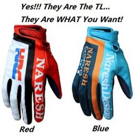 Wholesale Motocross Tld - NEW 2016 HRC AIR MOTOCROSS MX GLOVES NAVY 3 SIZES QUALITY... ALL SAME WITH TLD