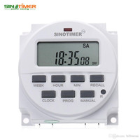 Wholesale Dc List - SINOTIMER 220 - 240V AC   12V DC 7 Days Programmable Timer Switch with UL listed Relay inside and Countdown Time Function HOT +TB