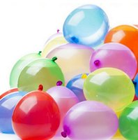 Wholesale Balloon Fight - 111pcs Bag Quickly Filling Magic Water-Filled Balloon Fight Kick Summer Toy Necessary Fetching Water War 100Set