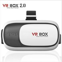3D VR Glasses Virtual Reality plástico de vidro Google Cardboard 3D VR BOX 2.0 Rift Google Cardboard 3D Movie para 3,5