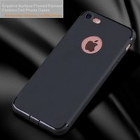 Creative Surface givrée Ultra-mince Protecteur de protection de corps complet pour Apple iPhone 6 6S 7 Plus Phone
