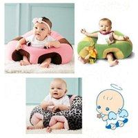 Wholesale Chair Seat Support - 14 Styles Baby Support Seat Plush Soft Baby Sofa Infant Learning To Sit Chair Keep Sitting Posture Comfortable For Newborn CCA8155 10pcs