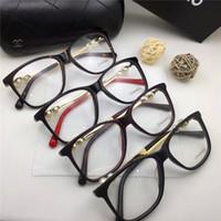 Wholesale Titanium Optical Glasses Frame - new brand glasses 3330 prescription eyewear pearl series frame women brand designer fashion style square frame brand optical