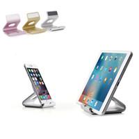 Wholesale Tablet Holder Sale - Hot sale 2017 Phone Tablet Aluminum Desktop Holder Table Stand Cradle Mount For Cell Phone Tablet DHL free