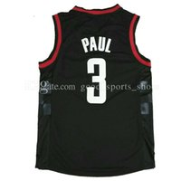 Wholesale Man Hots - Men's 3# Chris Paul Harden jersey 13# James 2017 New 100% stitched Basketball Jerseys wholesale fast free shipping hot sale