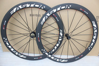Wholesale Cheapest Carbon Road Bike Wheels - 2017 cheapest Easton EC90SL with Novatec A271 hubs Carbon Wheelset matte bicycle wheels 50mm clincher road cycling bike wheel set 50mm