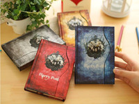 Wholesale Diary Paper Notebook - Harry Potter Retro Magic Diary Book Notepads Magnet Notebook Fans Collection Best Gift for Children Students in Stock