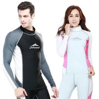 Tute / Mute da immersione T-shirt / pantaloni Maniche lunghe Rash Guards Surf Snorkelling Clothes 2017