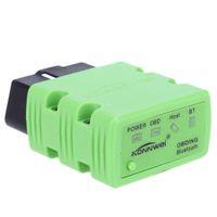 Wholesale Wireless Obd2 - 2 Colors Mini ELM327 OBD2 Bluetooth Car Diagnostic Tool Konnwei KW902 ELM 327 OBDII Auto Scanning Tools Wireless Diagnostic Tool