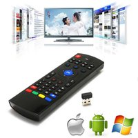 Air Fly Mouse MX3 VS C120 i8 Rii 2.4GHz teclado inalámbrico de control remoto Somatosensory IR sin Mic para Android TV Box Smart Keyboard