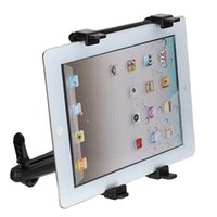 Wholesale universal headrest mount - 7-13 Inch Adjustable Universal Car Back Seat Headrest Tablet Mount Holder Stand Bracket Kit For iPad 4 3 2 For SAMSUNG Tab 10.1