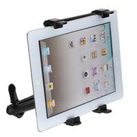 Wholesale headrest ipad holder - 7-13 Inch Adjustable Universal Car Back Seat Headrest Tablet Mount Holder Stand Bracket Kit For iPad 4 3 2 For SAMSUNG Tab 10.1