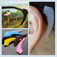 Wholesale Wholesale Eyeglass Holders Hook - Soft Temple Hook Tip Spectacles Ear Grip Anti Slip Non Holder for Glasses Eyeglass Sunglasses
