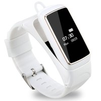 Wholesale Smartphone Heart Monitor - B2 Smart Bracelet Bluetooth Fitness tracker Smart Wristband Sleeping heart rate monitor bracelets For IOS Android Smartphone smart band