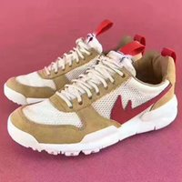 Wholesale Mesh For Crafts - 2017 Tom Sachs x Craft Mars Yard 2.0 TS NASA Joint Limited Sneaker Original Quality Natural Sport Red Maple Running Shoes Size For Men