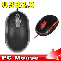 Wholesale Hot Wheels Computer - 2015 New Hot sale USB Led 3 Button 3D Optical Wired Mice Mouse Scroll Wheel For PC Laptop Computer