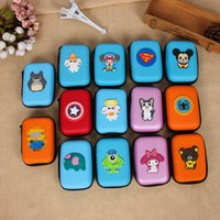 Wholesale Silicone Purse Coin Card Holder - Sale Cartoon mini coin purses Wallets Holders key wallet small cute bag Silicone children Storage package Waterproof headset package 1102