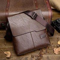 Wholesale Cowhide Leather Crossbody Bag - 2017 High quality PU Leather bag designer crossbody bags design men bags cowhide PU Leather messenger bag for man