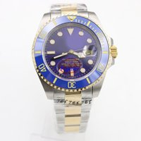Wholesale Mens Sub Watch - Top sell Luxury Brand rolix Mechanical 116613LN SUB stainless Watches Black Dial Stainless DezelWatches Sport Watches Mens Sapphire glass