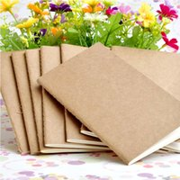 Wholesale Stationery Wholesale Business - cowhide paper notebook blank notepad book vintage Kraft paper Easy to carry Small notebook Graffiti sketch Creative Simple stationery